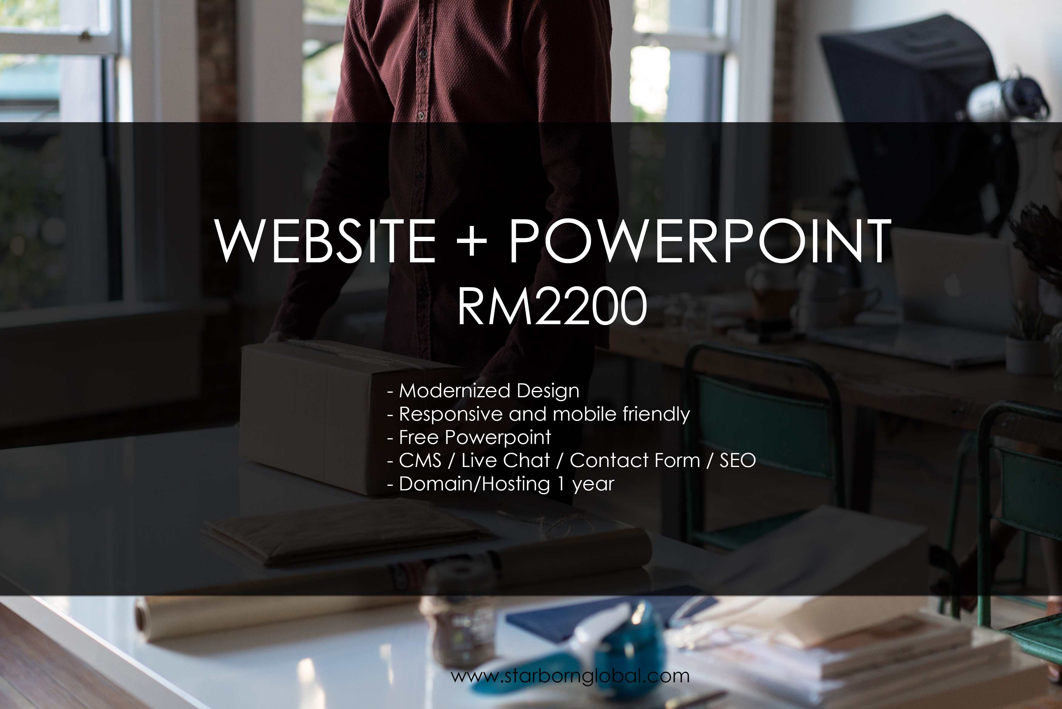 Free Website and Powerpoint Design