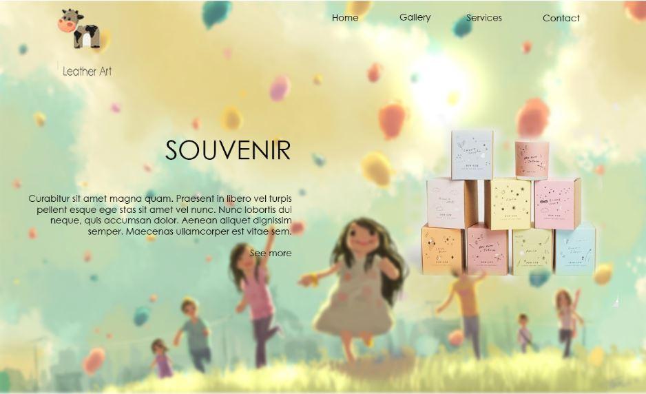 gift shop web design
