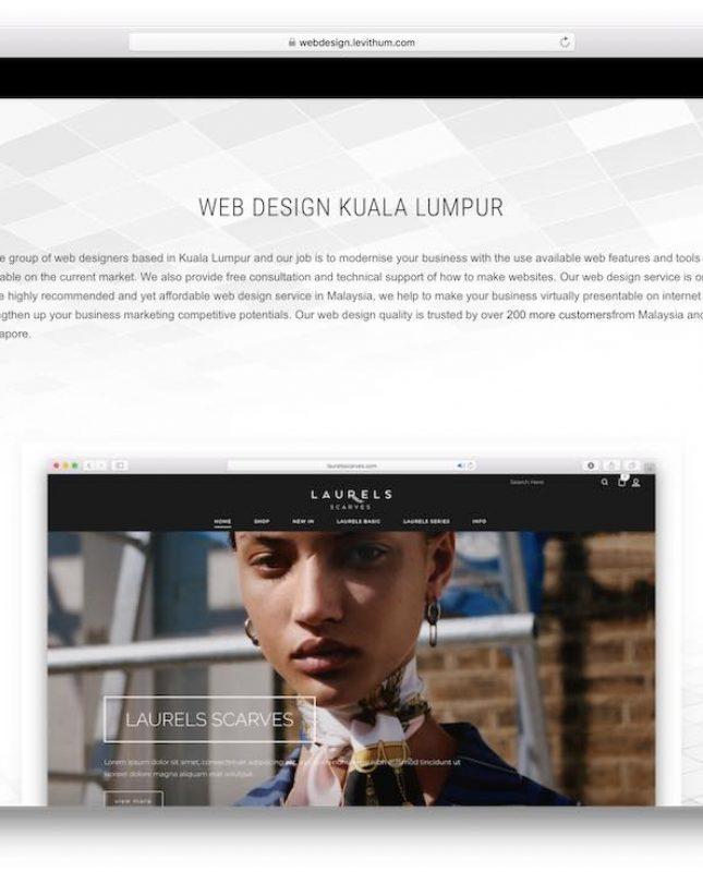 student ecommerce design service