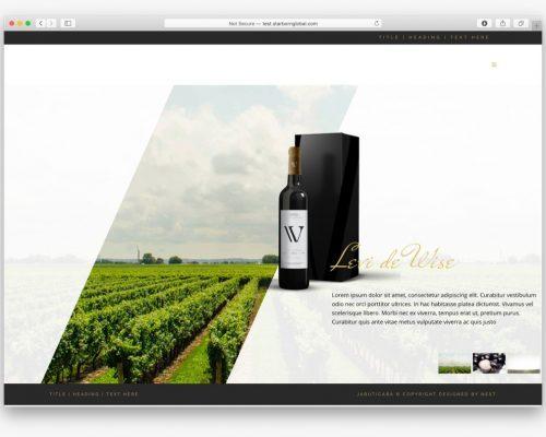 jacabutica web design