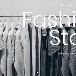 Fashion Store Wordpress Template